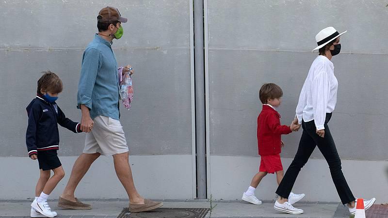 Corazón - Iker Casillas y Sara Carbonero recuperan su vida en Madrid