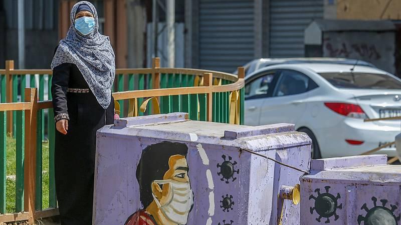 Gaza, confinamiento total para frenar los contagios de coronavirus