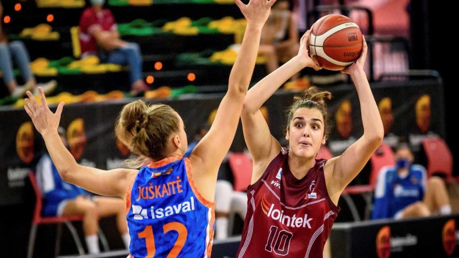 Gernika Bizkaia jugará su primera final de la Supercopa femenina tras vencer a Valencia Basket