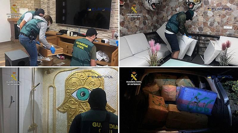 La Guardia Civil desarticula una organización criminal dedicada al narcotráfico de hachís en Málaga y Cádiz