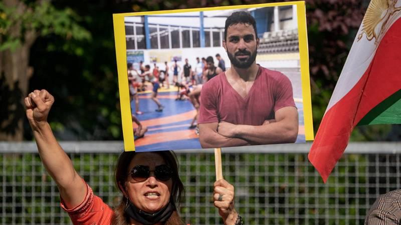 Ejecutado en Irán el campeón de lucha Navid Afkari
