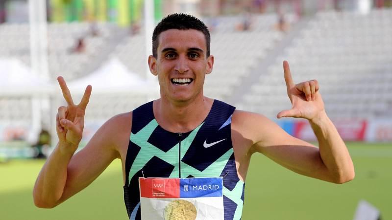 Mariano García, campeón de España de 800m