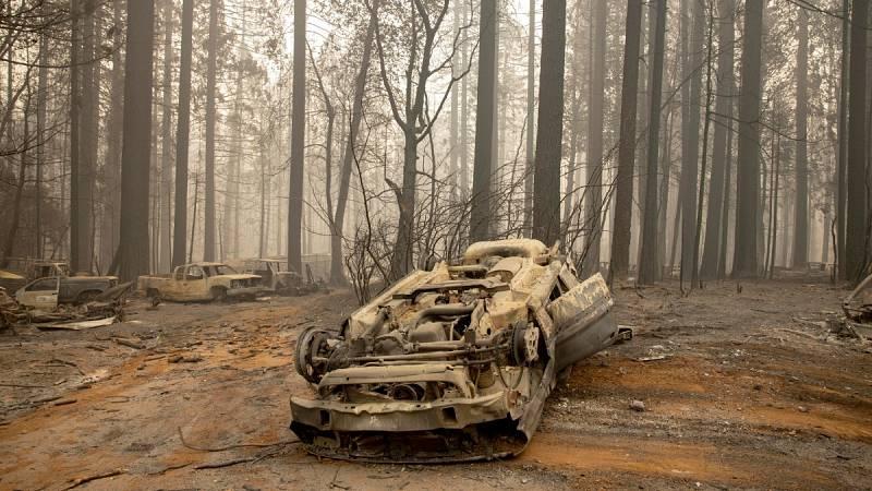 Un millón de hectáreas quemadas y cerca de 30 muertos: las dramáticas cifras de los incendios en Estados Unidos