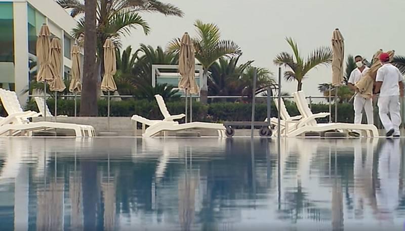 El sector hotelero no remonta en Canarias por culpa del coronavirus