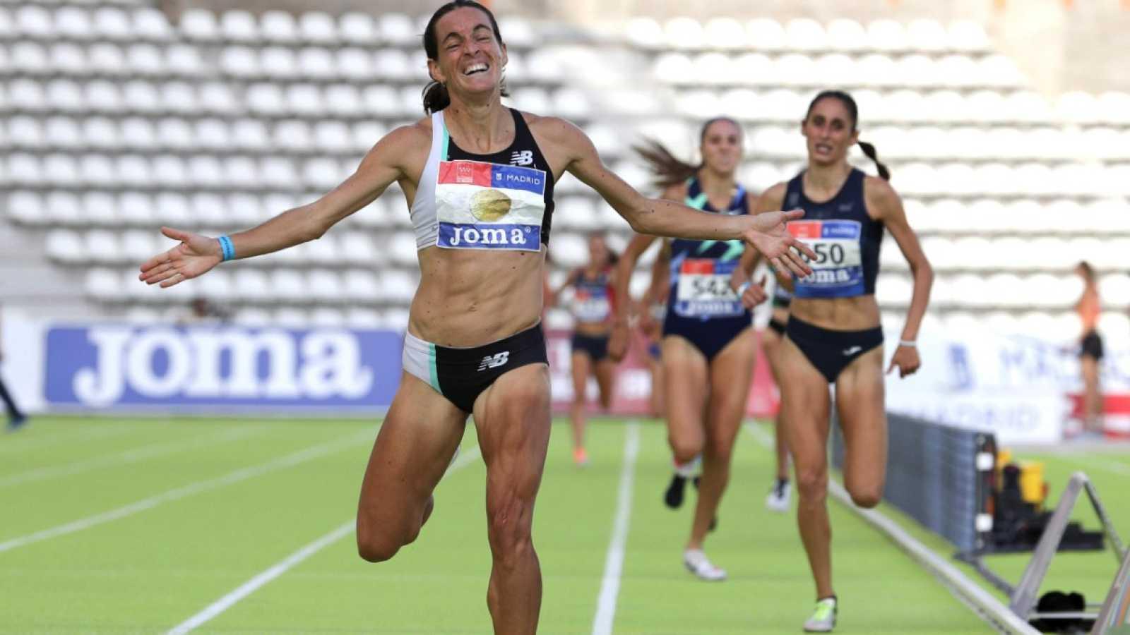 Esther Guerero logra un doblete histórico tras proclamarse campeona de España de 1.500m