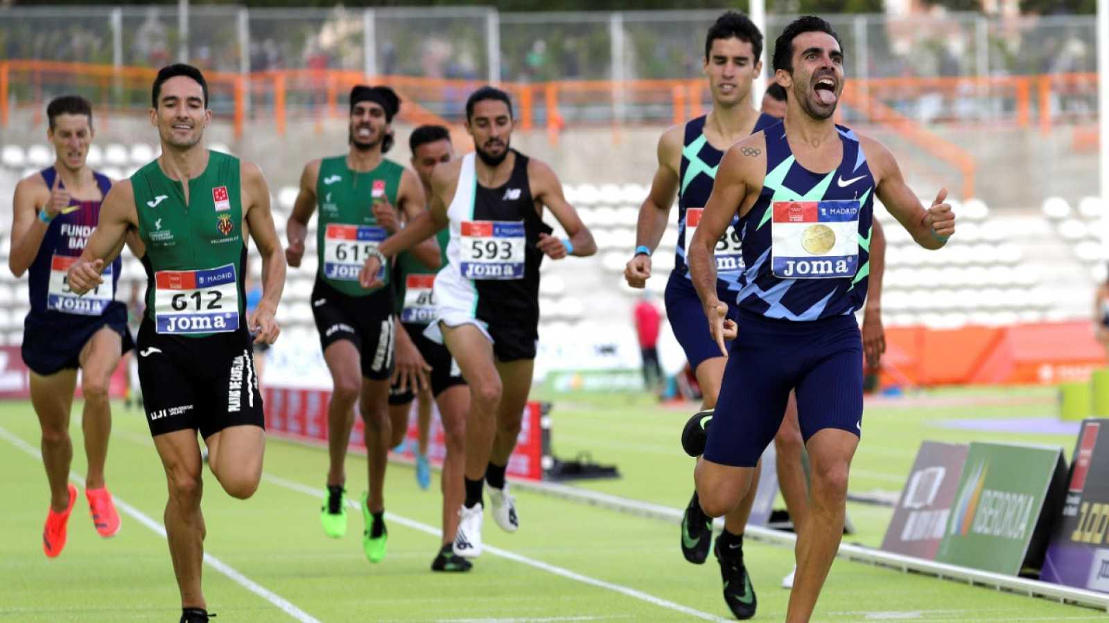 Kevin López, campeón de España de 1.500m