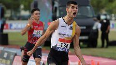 Asier Martínez, campeón de España de 110 metros vallas