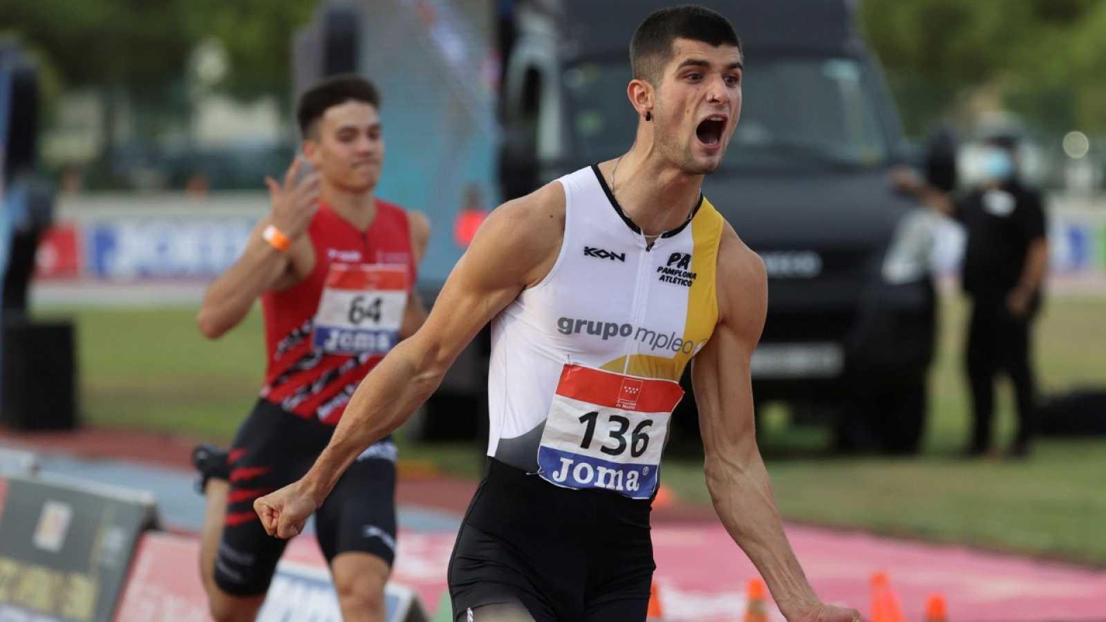 Asier Martínez,campeón de España de 110 metros vallas