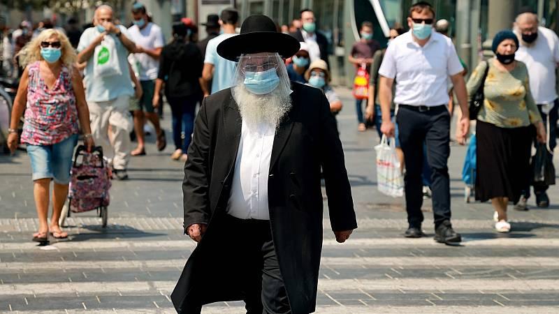 Israel se confina por segunda vez al no poder frenar la segunda ola de COVID