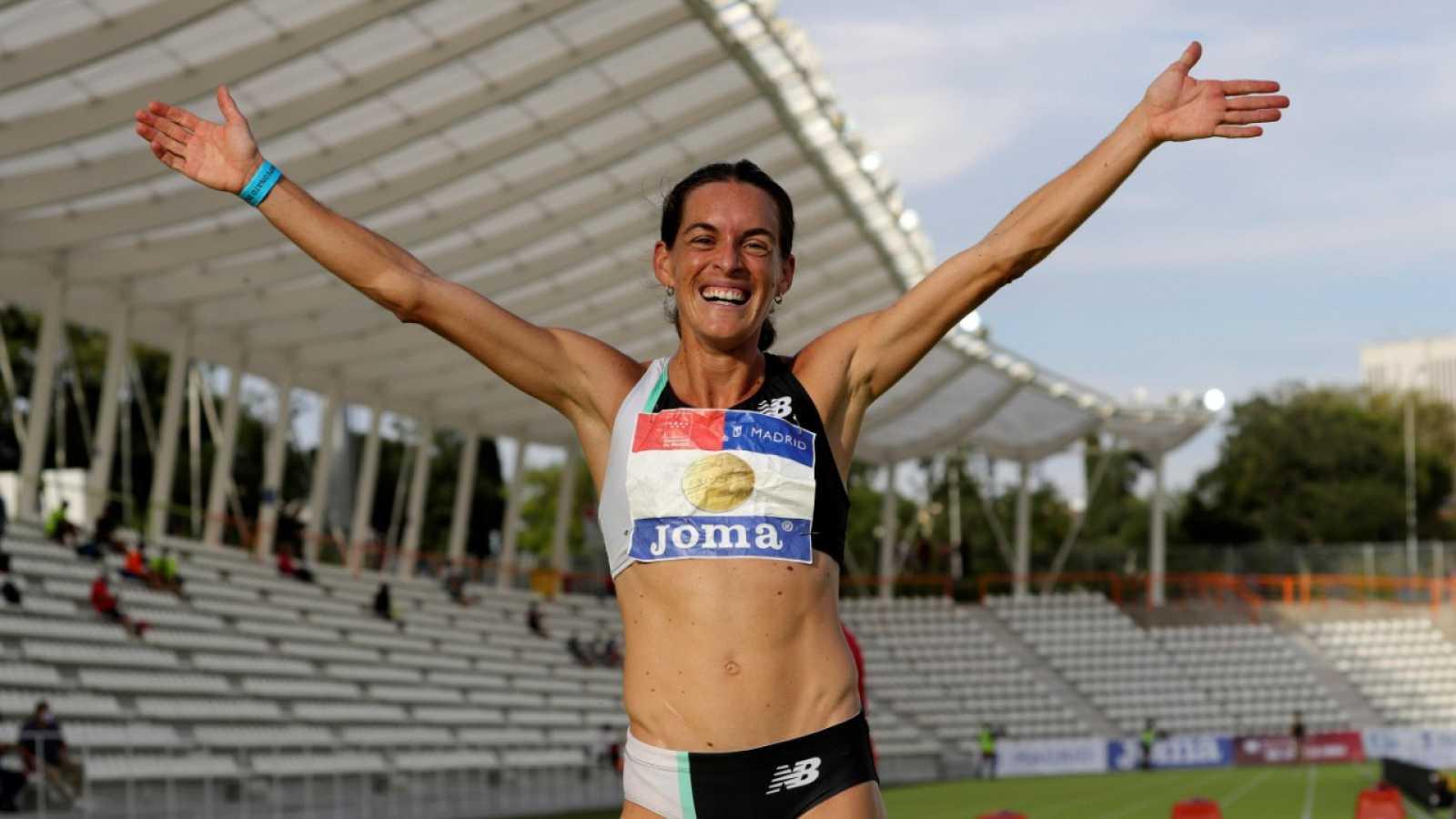 Doblete histórico de Esther Guerrero en el Campeonato de España de Atletismo