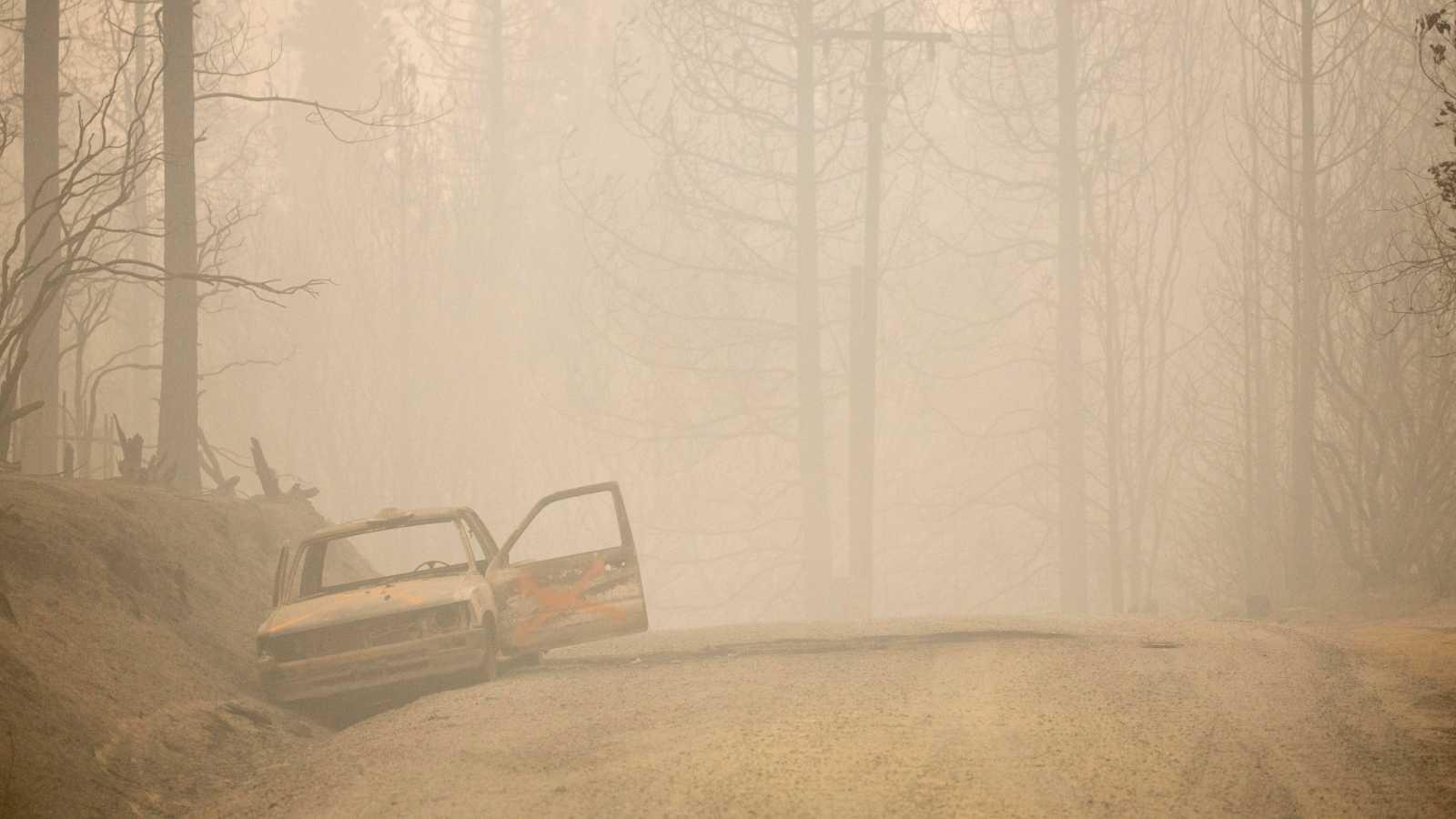 El fuego se ceba en California con cerca de un millón de hectáreas calcinadas