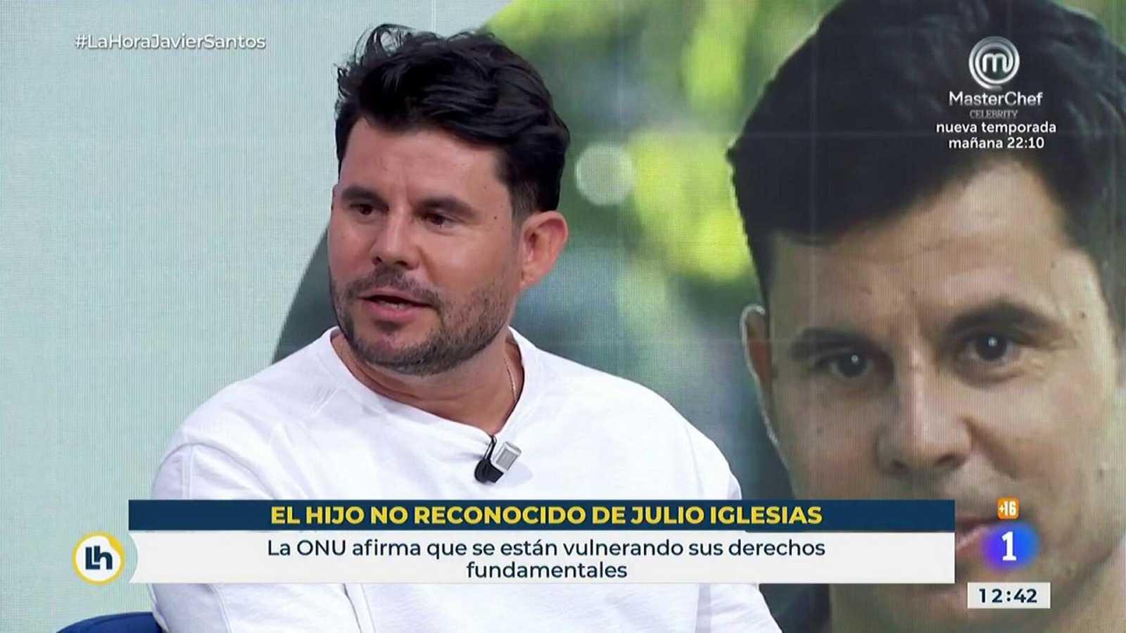 Javier Santos, hijo no reconocido de Julio Iglesias, se confiesa en La Hora de La 1