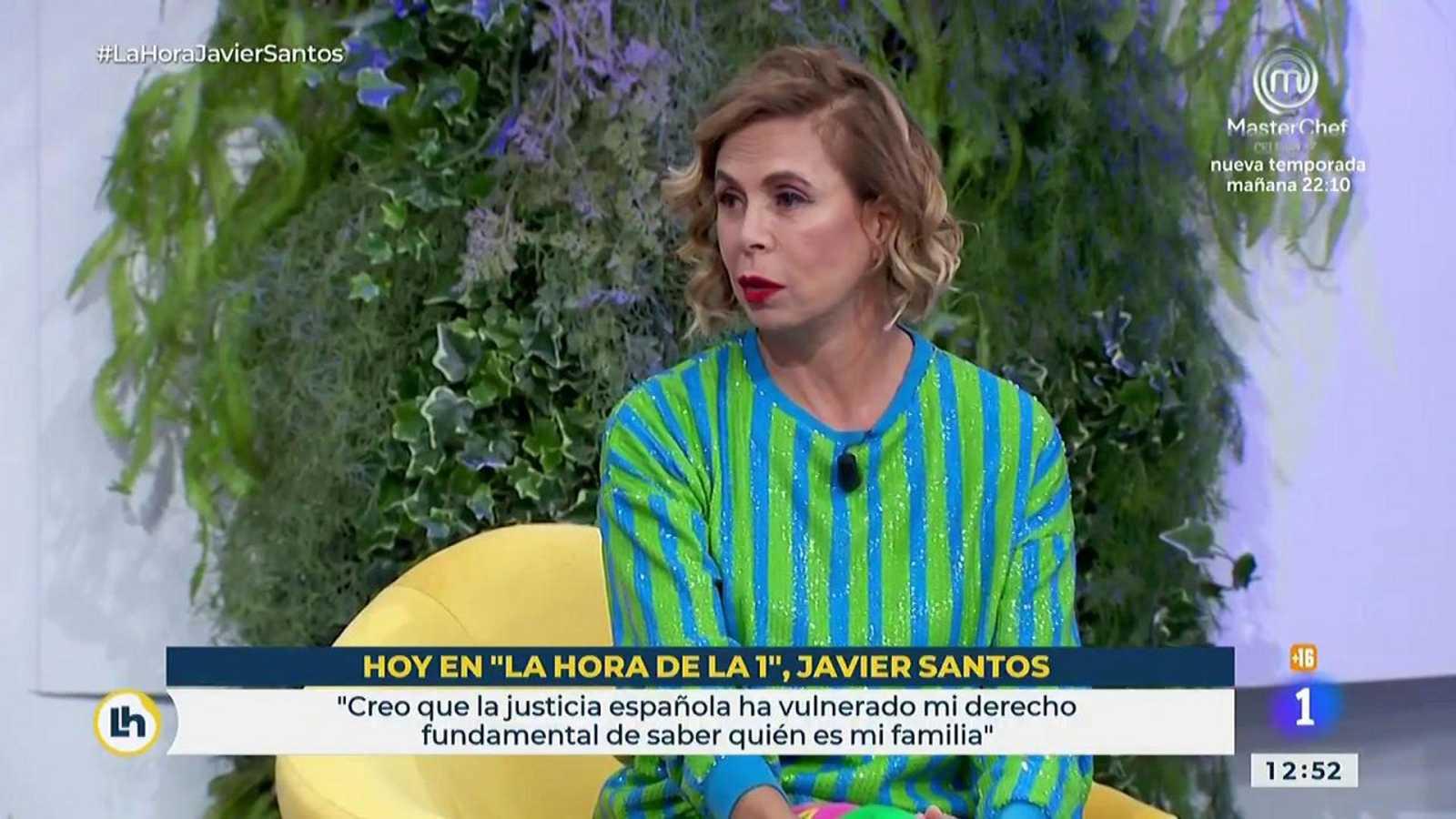 La confesión de Ágatha Ruiz de la Prada en La hora de La 1