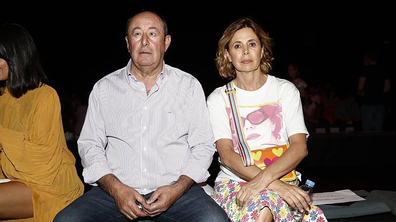 """Ágatha Ruiz de la Prada y Luismi, """"el chatarrero"""", un amor con final anticipado"""