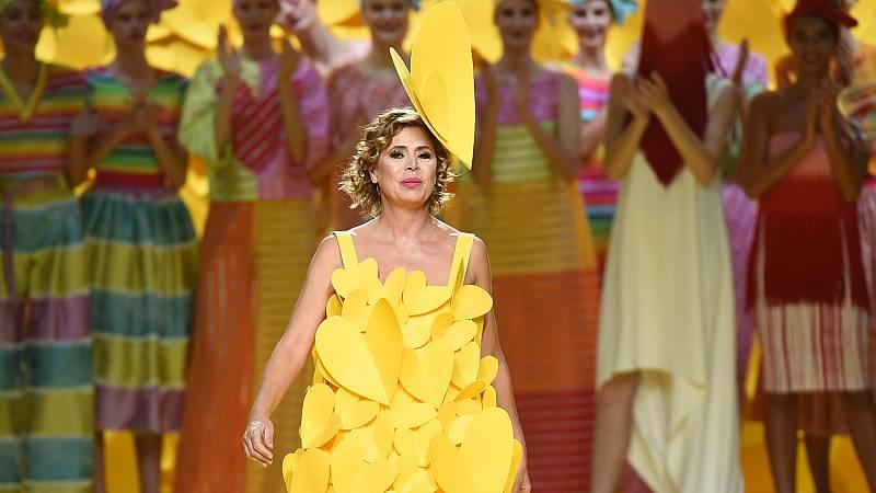 ¿Quién ha vestido de Ágatha Ruiz de la Prada?