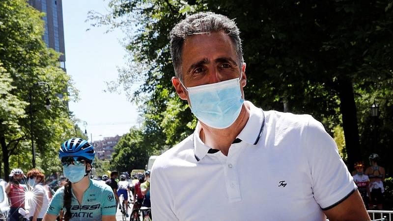 """Miguel Induráin: """"Esta semana la gente tiene que defenderse o atacar. Ya no valen las medias tintas"""""""