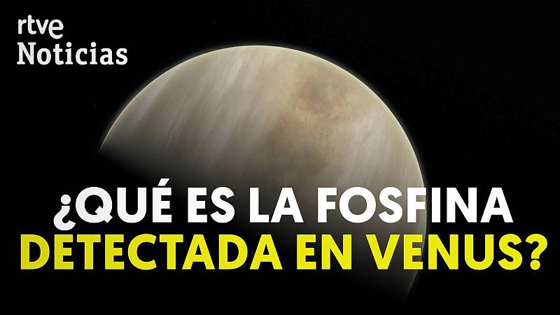 El descubrimiento de gas fosfano revela posible vida en Venus