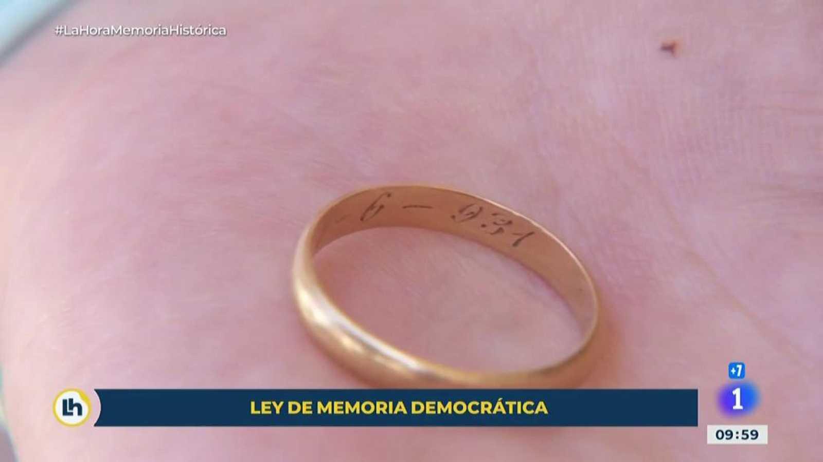 Memoría Democrática: la historia del hallazgo de la fosa de un hombre gracias a un anillo