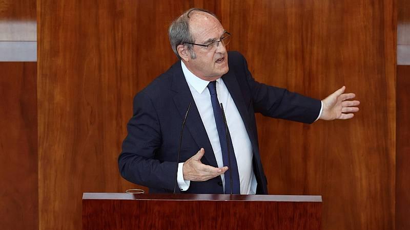 Gabilondo alienta la moción de censura contra Ayuso pero Cs la descarta