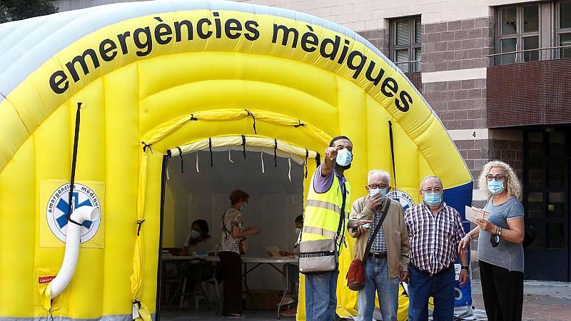 Se triplican los casos de coronavirus en Cataluña