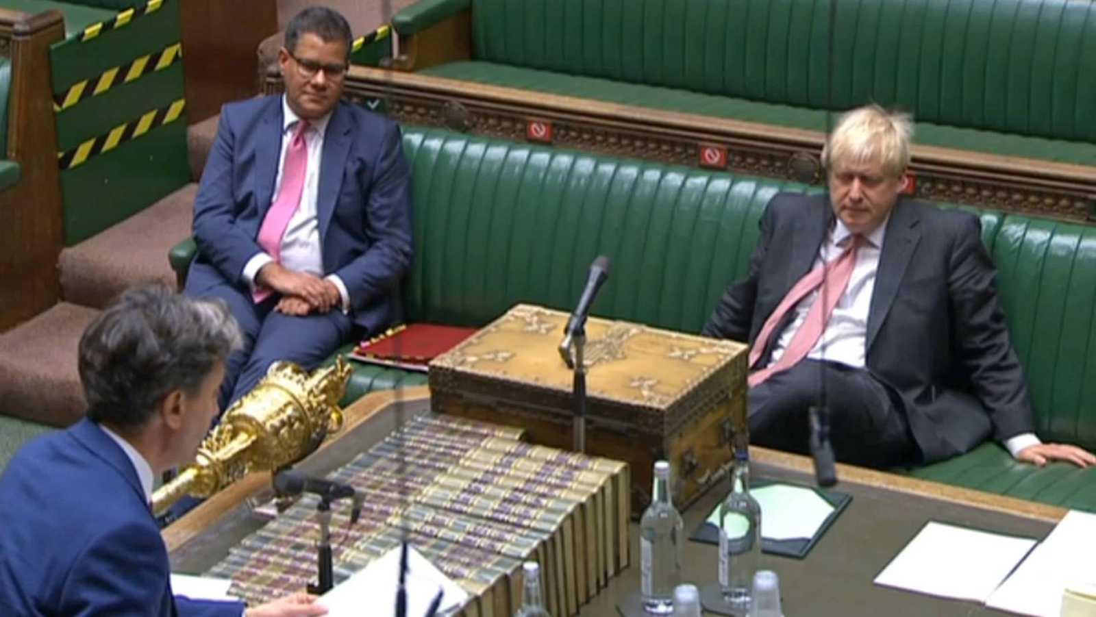 Johnson logra superar en el Parlamento la primera votación de la ley que vulnera el acuerdo del 'Brexit'