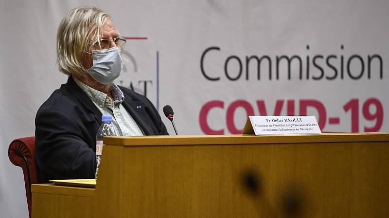 """Progresión galopante"" del coronavirus en Francia"