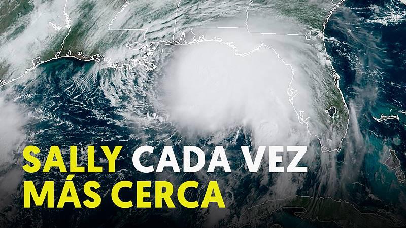 El huracán Sally cada vez más cerca de Louisiana y Mississippi