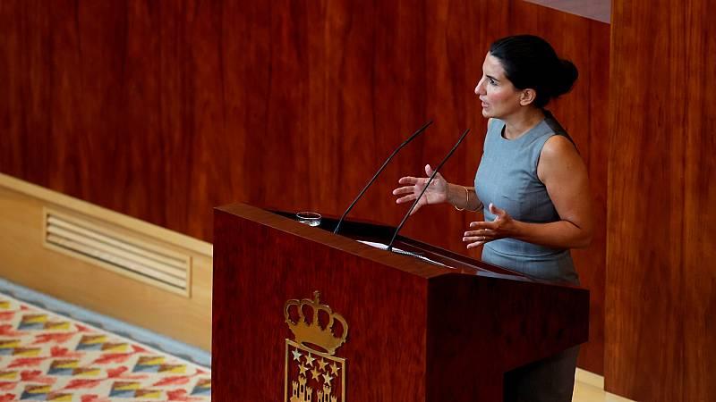 """Monasterio asegura que Vox no apoyará una moción de censura del PSOE contra Ayuso: """"Solo garantiza miseria"""""""