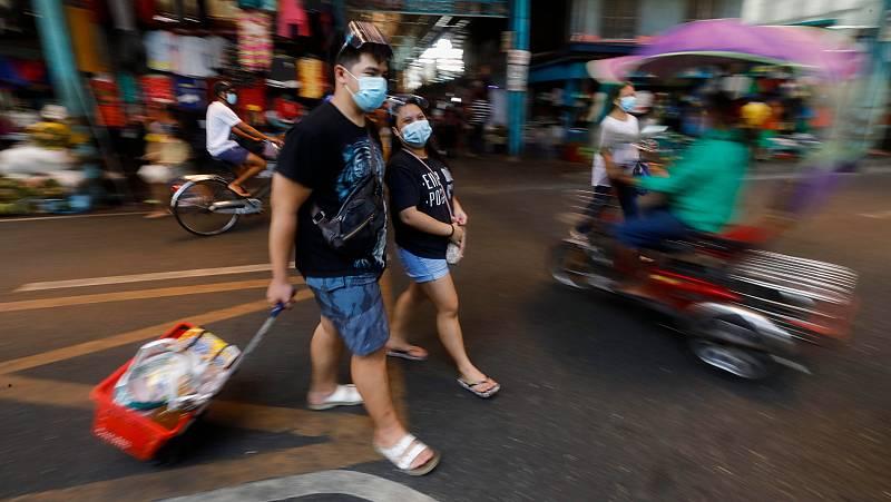 La cuarentena no frena la COVID-19 en Filipinas
