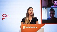 """Melisa Rodríguez, portavoz de Ciudadanos: """"El Congreso debate más sobre Franco que sobre educación o dependencia"""""""