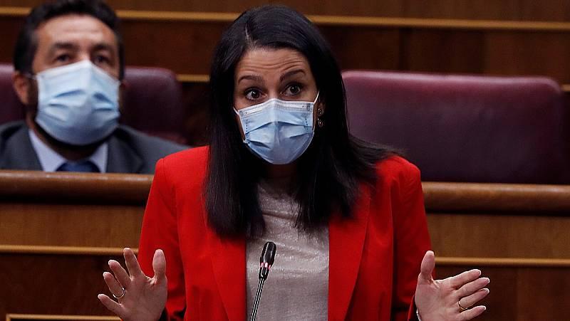 """Sánchez agradece a Arrimadas que """"abandone la dialéctica de bloques"""" en plena negociación de Presupuestos"""