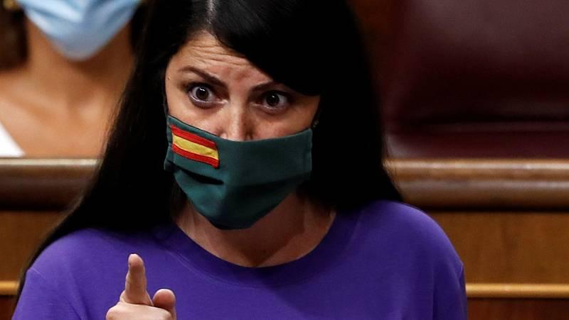 """Olona pide a Iglesias su dimisión, que responde: """"A ustedes les gustaría tener una justicia como en la dictadura"""""""