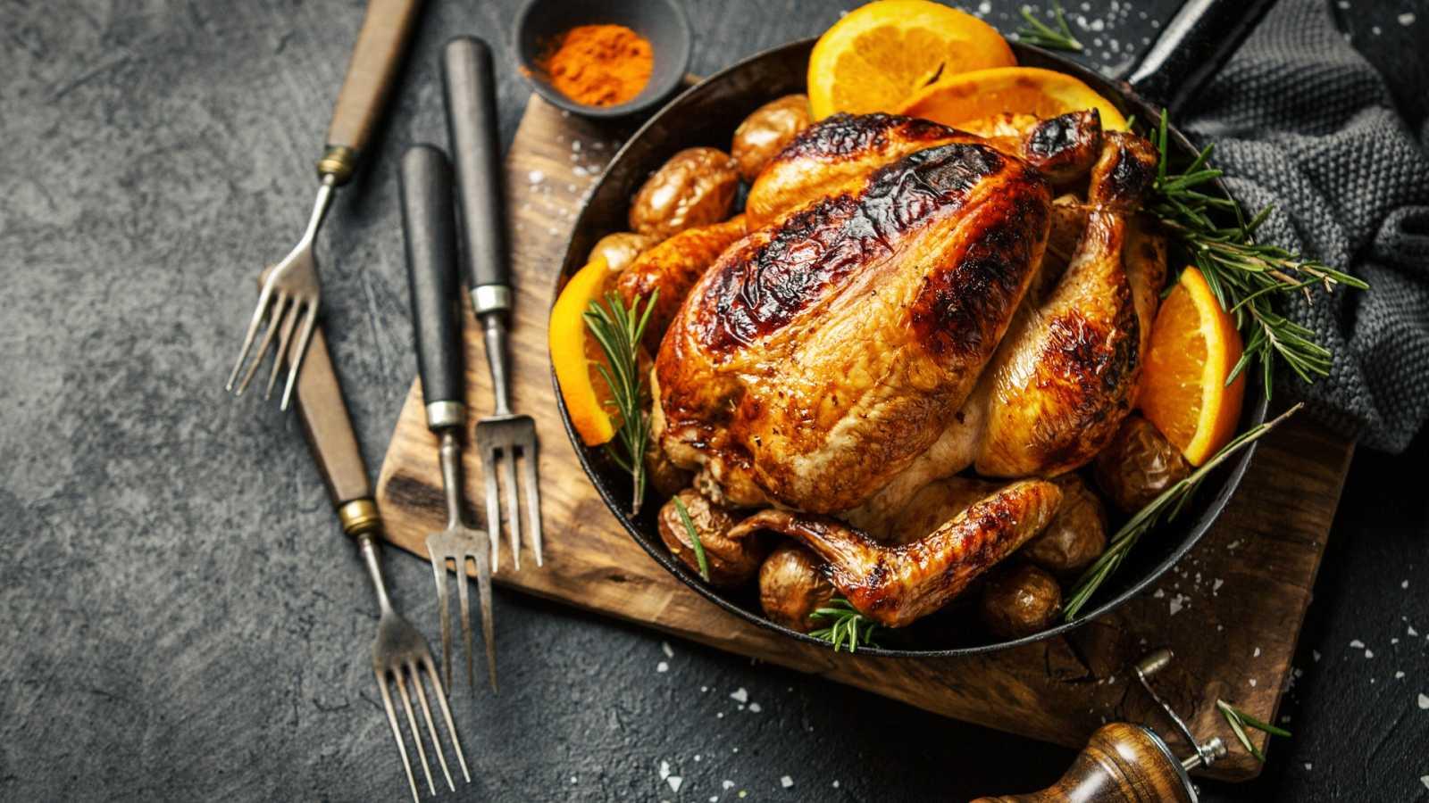 Cómo dorar el pollo al horno, ¡mega truco!