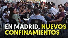 Nuevos confinamientos en Madrid