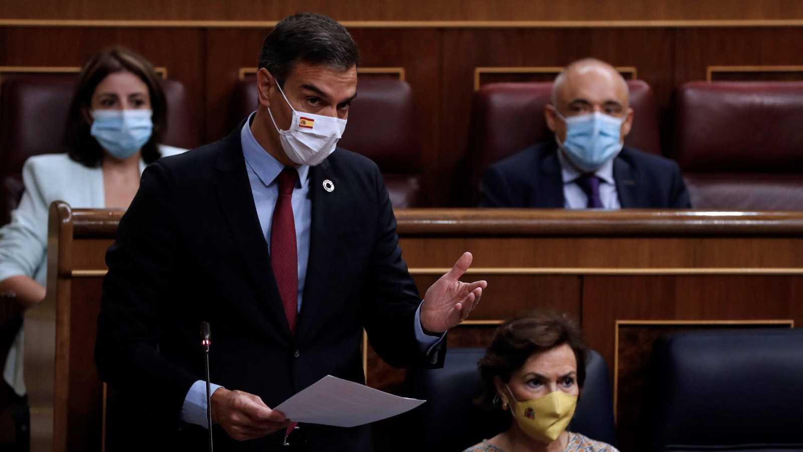 Los reproches por los casos de corrupción marcan la sesión de control al Gobierno