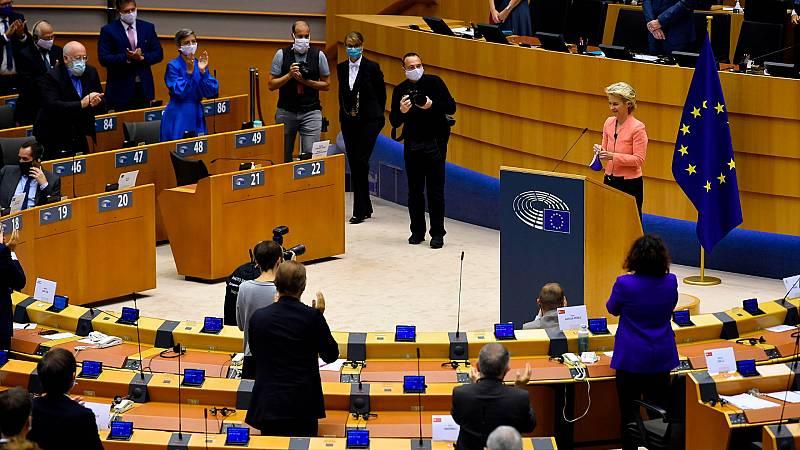 El curso político arranca en el Parlamento Europeo entre fuertes medidas de seguridad por la COVID-19