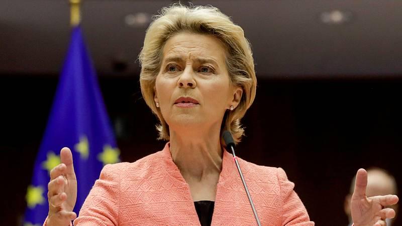 Ursula Von der Leyen inaugura el debate sobre el estado de la Unión en el Parlamento Europeo