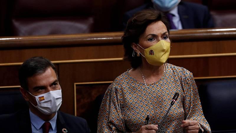 """Calvo pide al PP que se abstenga para sacar adelante los Presupuestos: """"Sus escaños tienen que ser útiles"""""""