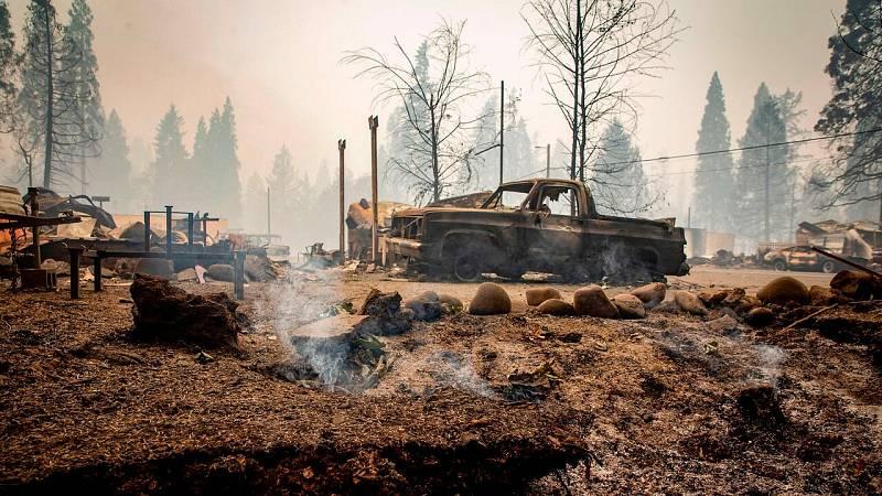 Oregón, un estado arrasado por los incendios forestales en EE. UU.