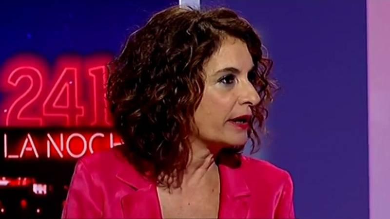 """María Jesús Montero: """"Sin presupuestos, tendremos dificultades para levantar el país"""""""