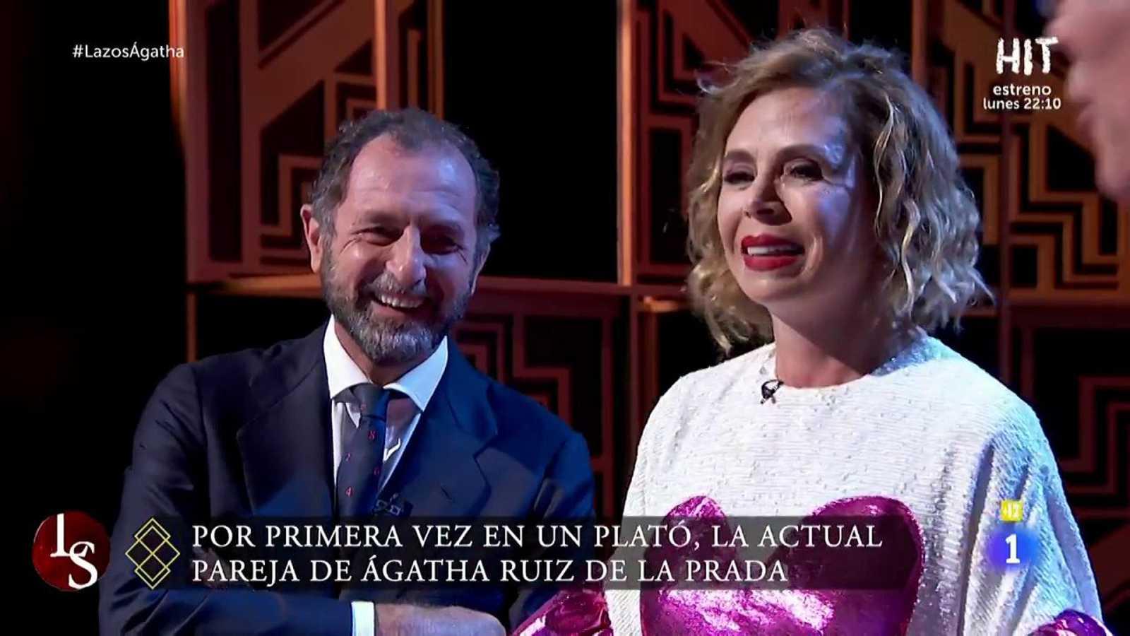 Ágatha Ruiz de la Prada recibe una sorpresa de Luis Gasset en el programa