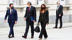 Torra llega al Tribunal Supremo para la vista en la que se revisará su posible inhabilitación