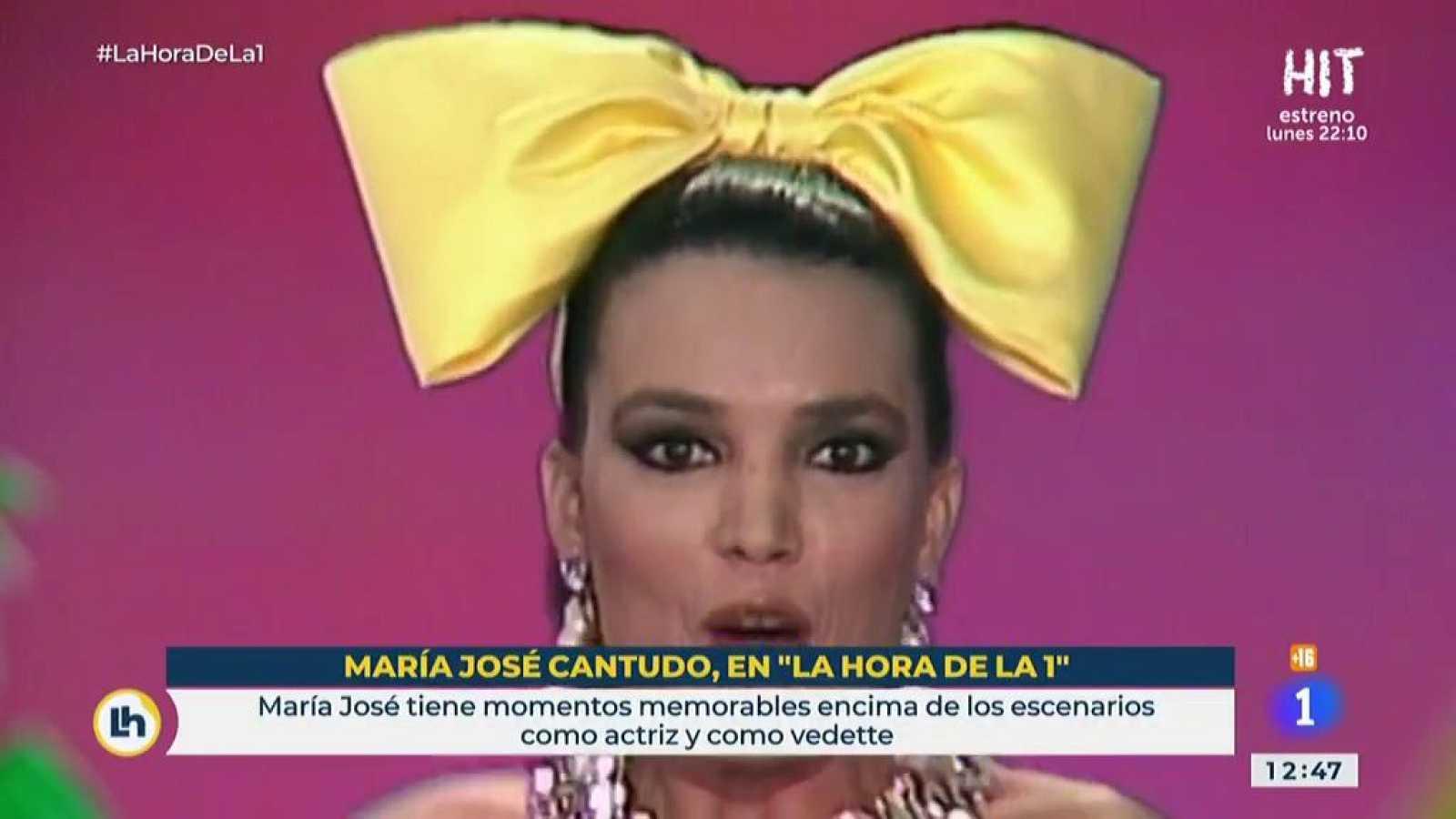 Los comienzos de María José Cantudo en TVE