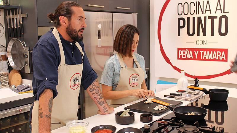 Cocina al punto con Peña y Tamara - Los pilotes de Miquel Montoro - ver ahora
