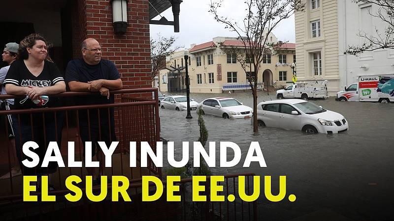 El huracán Sally golpea el sur de Estados Unidos con fuertes vientos e inundaciones