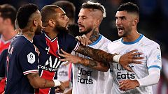 Dos partidos de suspensión para Neymar por abofetear a Álvaro González