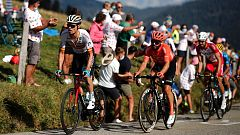 Ciclismo -Tour de Francia - 18ª etapa: Méribel - La Roche-Sur-Foron (1)