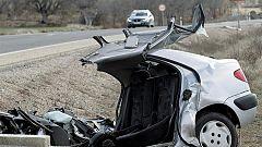Pesadilla en la N-122, una de las carreteras más peligrosas de España