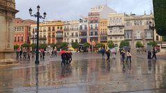 Lluvias fuertes este viernes en el interior y descenso térmico generalizado en toda España