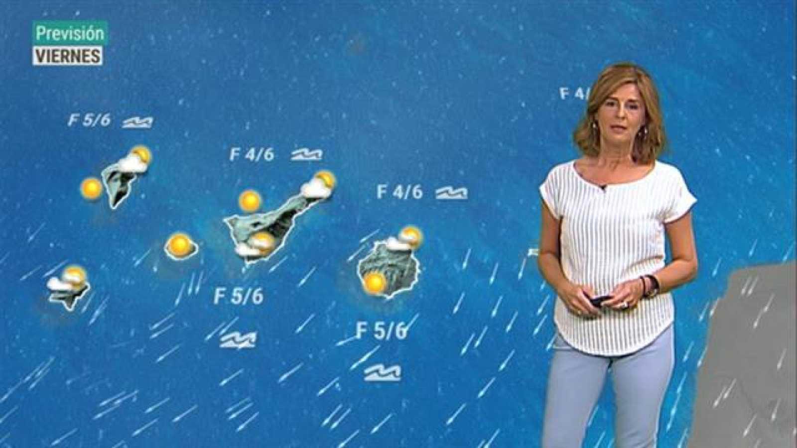 El tiempo en Canarias - 18/09/2020
